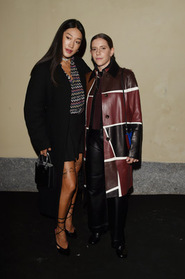 Peggy Gou and Coco Capitán attend Zalando Designer Event 'Luxury on your Terms' at Milan Fashion Week on September 23, 2021 in Milan, Italy. (Photo by Stefania M. D'Alessandro/Getty Images for Zalando)